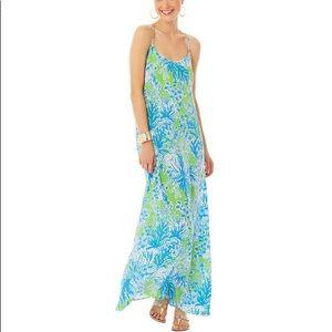 Lilly Pulitzer Jaylene Maxi Dress - Limeade NWT